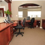 The front office at Migraine Headache Relief Center of Pennsylvania (MHRPA).